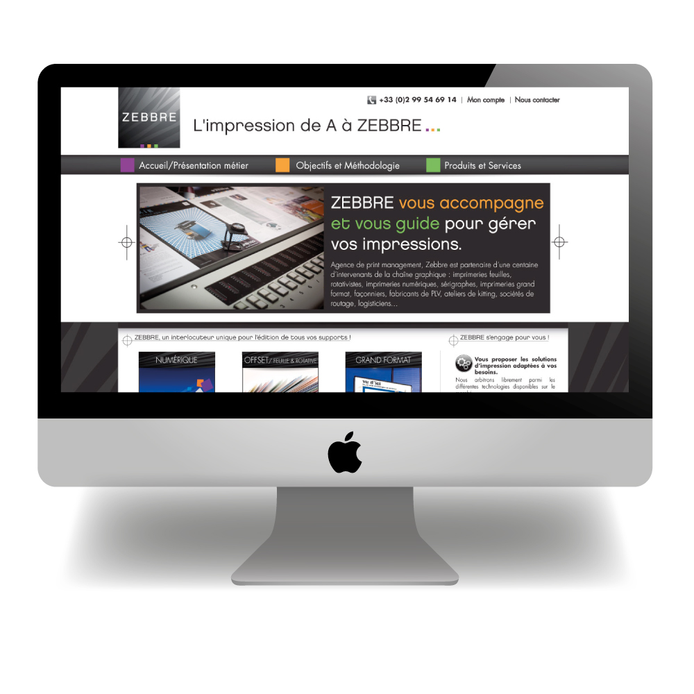 Zèbre- Imprimeur en ligne